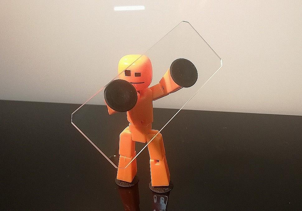 Приборное стекло 75x30x1.5