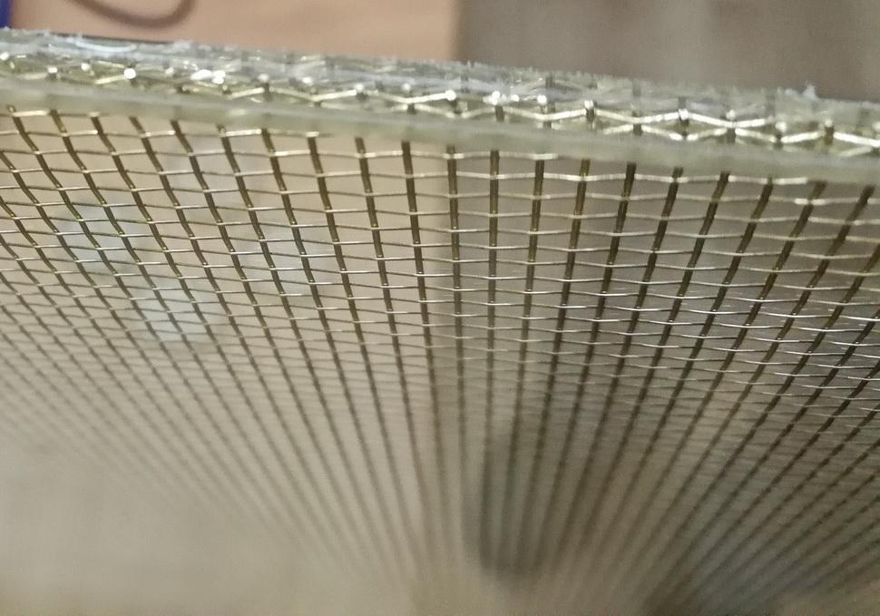 Армированный триплекс 1,5+1,5 мм.